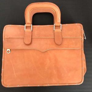 Rebecca Minkoff leather laptop briefcase brand new